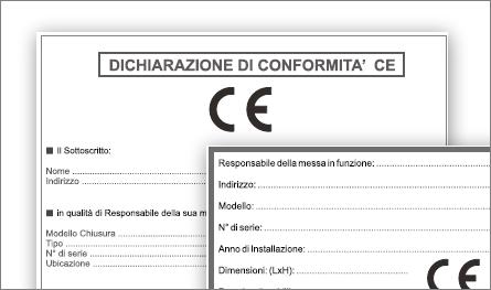 Dichiarazione CE